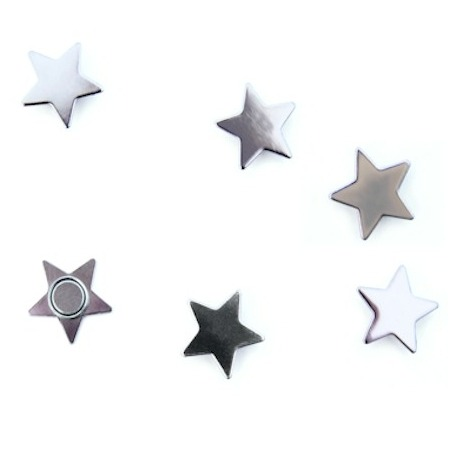 Fridge magnet StarBling Bling and Silver