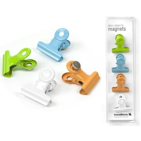 Magnet clip Graffa mini colorPhotoholder and Photoframe