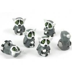 Mini magneetjes RingstaartmakiDier Magneetjes