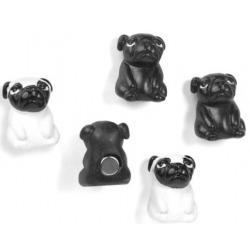Mini magneetjes Hond DukeDier Magneetjes