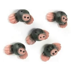 Mini fridge magnets Mole