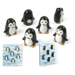 Mini magneetjes Pinguin