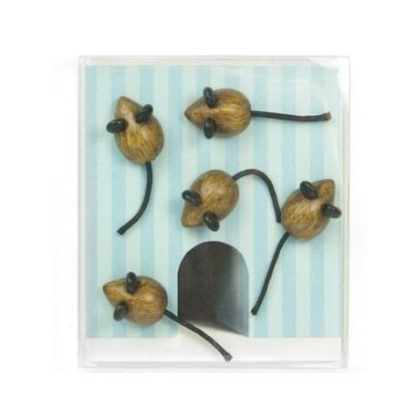 Mini magneetjes Muis ToppolinoDier Magneetjes