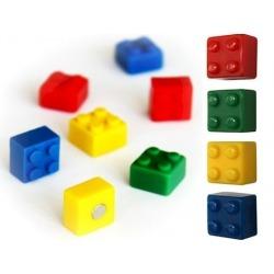 Koelkast magneet Lego blokjes