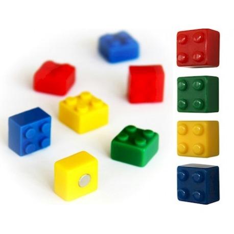 Koelkast magneet Lego blokjesOverige Magneetjes