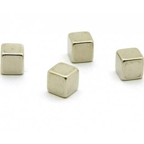 Super strong magnets cube (per 4)Super Strong Magnets