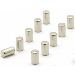 Supersterke magneetjes magnum zilver (set van 10)