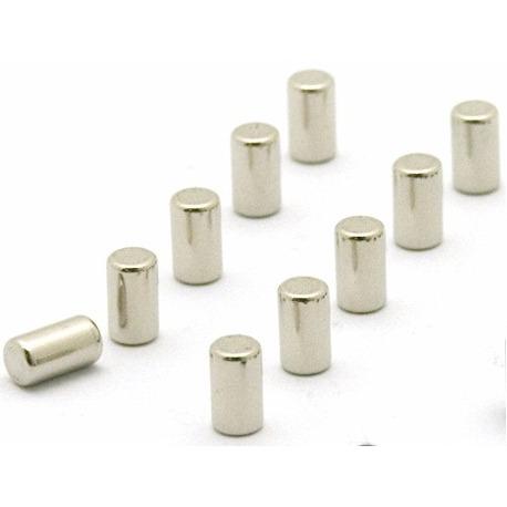 Supersterke magneetjes magnum zilver (set van 10)Super Sterke Magneetjes