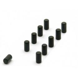 Supersterke magneetjes magnum zwart (set van 10)Super Sterke Magneetjes