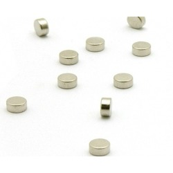 Super strong mini magnets silver (set of 10)Super Strong Magnets