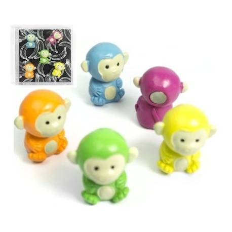 Mini fridge magnets monkey colorAnimal Magnets