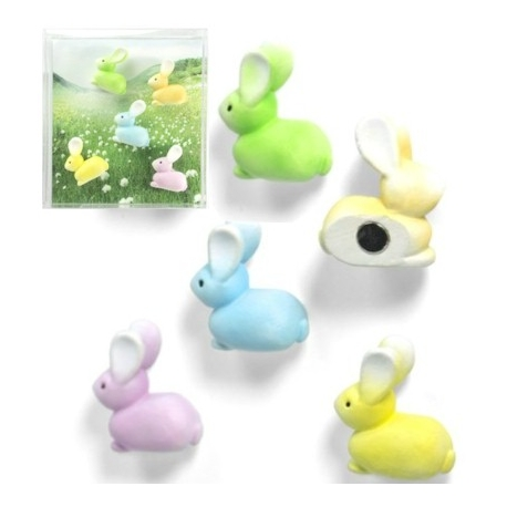 Mini fridge magnets rabbitAnimal Magnets