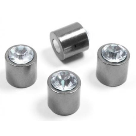 Magnet Bling Bling (setvan 4)Bling Bling en Zilver