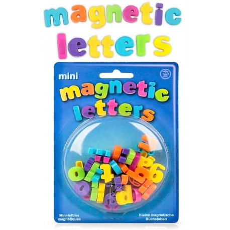Mini magnetic letters (40 pieces)Magnet Letters and Numbers
