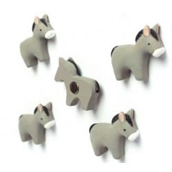 Mini fridge magnets donkey