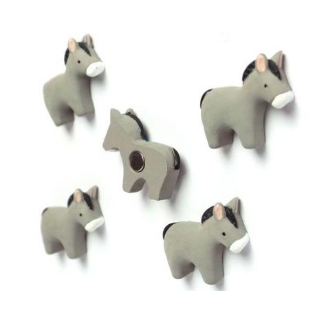 Mini magneetjes EzelDier Magneetjes
