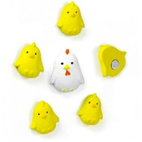 Mini fridge magnets chickenAnimal Magnets