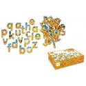 Magneet letters ABC Safari
