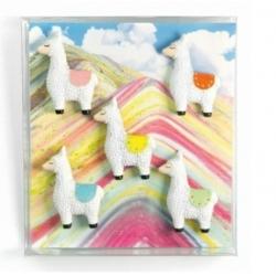 Mini magneetjes Lama