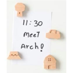 Small Ville houten MagnetenOverige Magneetjes