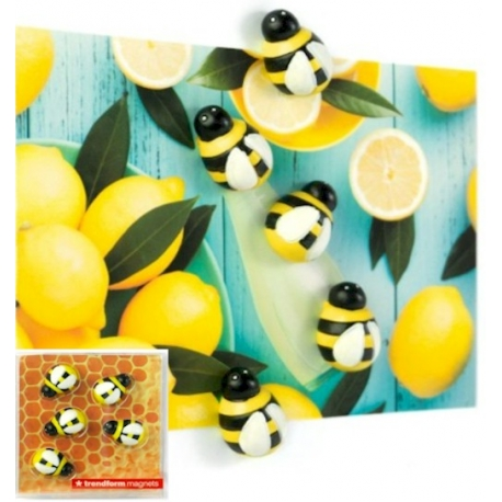 Mini fridge magnets Honey BeeAnimal Magnets