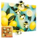 Mini fridge magnets Honey Bee