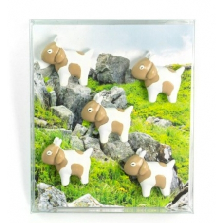 Mini fridge magnets GoatAnimal Magnets