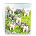 Mini fridge magnets Goat