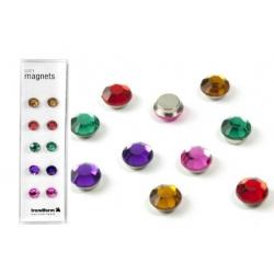 Super sterke mini magneetjes lucy diamant (set van 10)Super Sterke Magneetjes