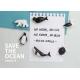 Qualy Save the Ocean magneten (set van 6)Dier Magneetjes