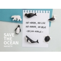 Qualy Save the Ocean magneten (set van 6)