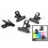 Magnet clip Graffa black (4 pieces)