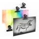 Magneet klem Graffa zwart (4 stuks)Magneet Haak en Klem
