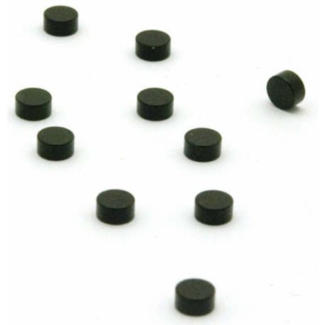 Super sterke mini magneetjes plat zwart (set van 10)Super Sterke Magneetjes