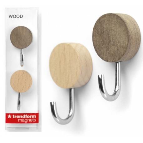 Wood hook MagnetsMagnet Hook and Clip